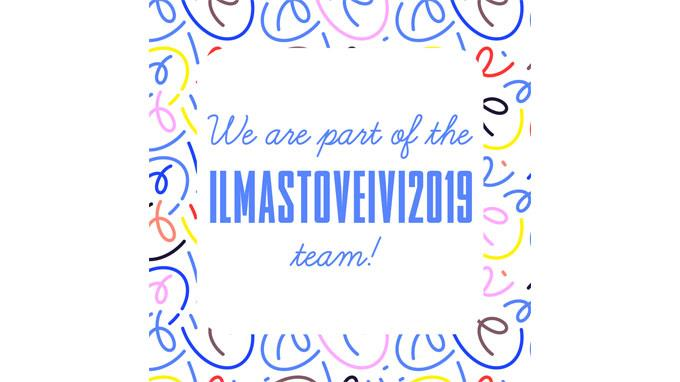 We are part of the Ilmastoveivi2019 team