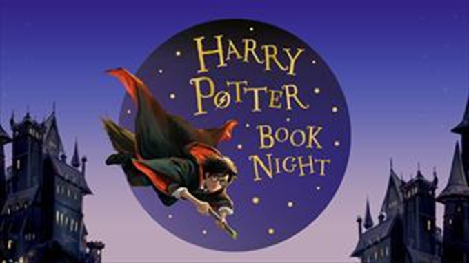 Harry Potter Book Night logo.